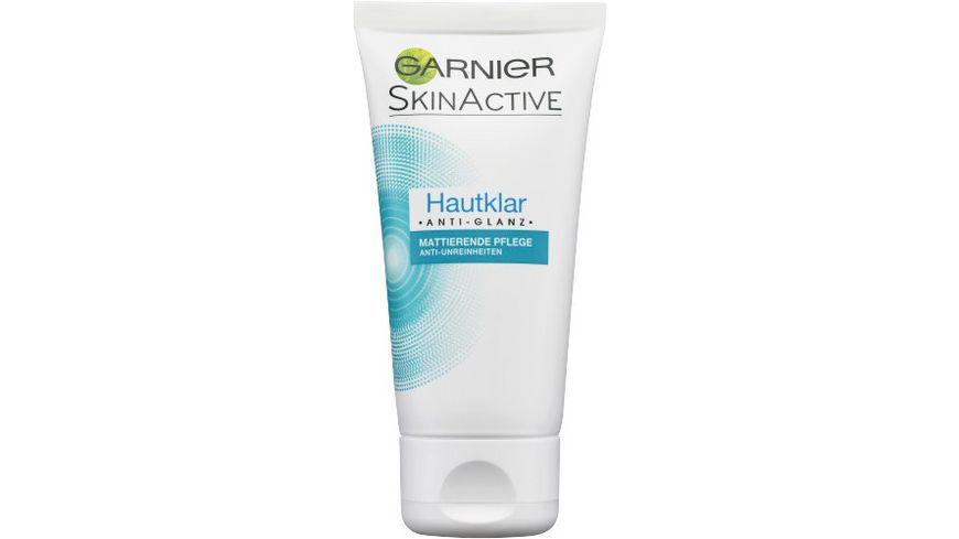 GARNIER Hautklar Anti Glanz Mattierende Pflege