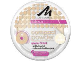 MANHATTAN Clearface Compact Puder Vanilla 70