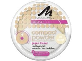 MANHATTAN Clearface Compact Puder Sand 76