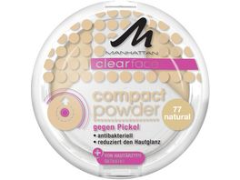 MANHATTAN Clearface Compact Puder natural 77