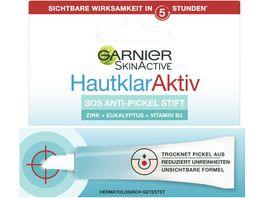 GARNIER Hautklar Anti Pickel Gelstift