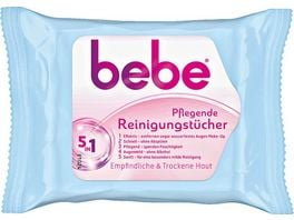 bebe Young Care 5 in 1 pflegende Reinigungstuecher