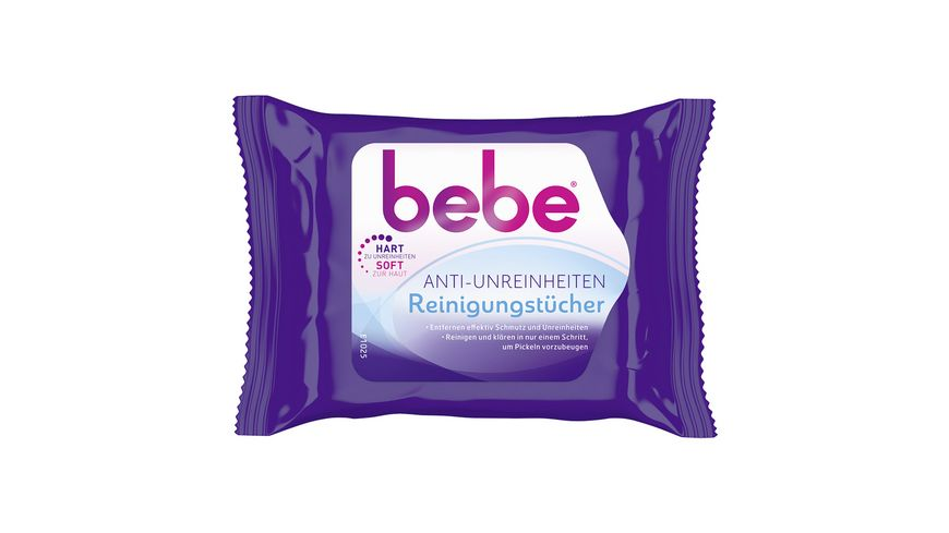bebe Young Care Anti Unreinheiten Reinigungstuecher