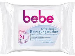 bebe Young Care 5 in 1 erfrischende Reinigungstuecher