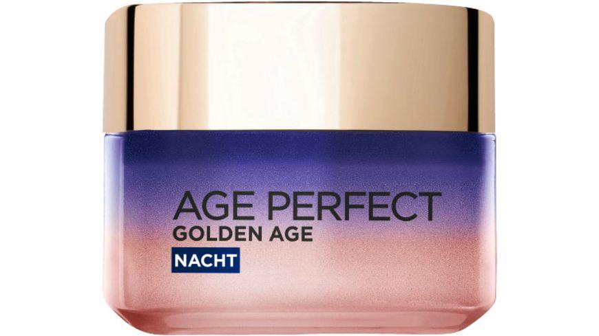 L OREAL PARIS Age Perfect Golden Age Stimulierend kuehlende Nachtpflege mit Pfingstrosen Extrakt und Calcium B5