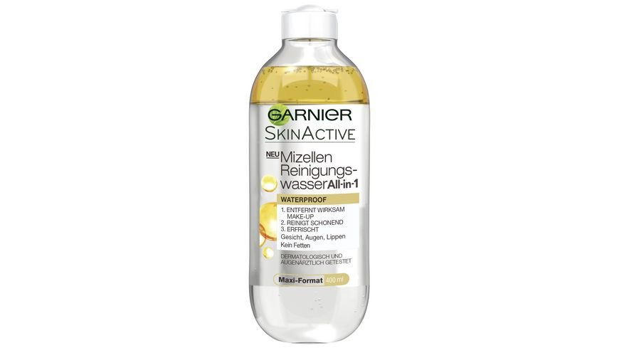 GARNIER Mizellen Reinigungswasser All in 1 Waterproof