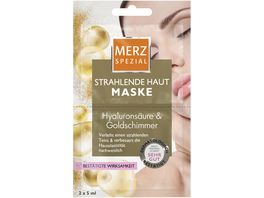 MERZ Spezial Maske Strahlende Haut