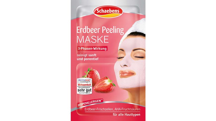 Schaebens Maske Erdbeer Intensiv