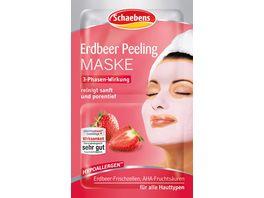 Erdbeer Peeling Maske 2x6 ml