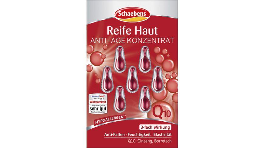 Schaebens Anti Age Konzentrat Reife Haut