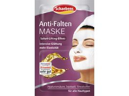 Schaebens Maske Anti Falten