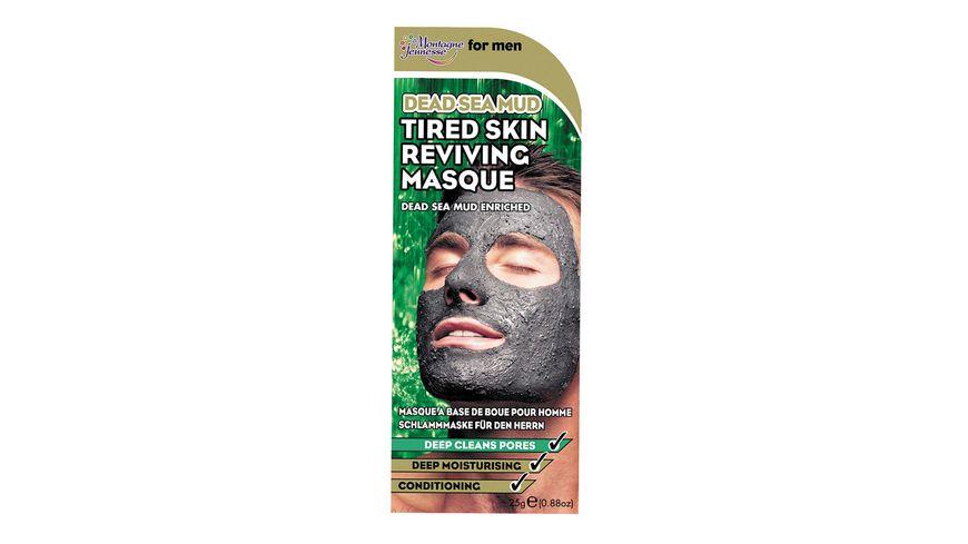 Montagne Jeunesse Maske For Men Totes Meer Schlamm