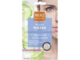 MERZ Spezial Maske Augen Hyaluron Gurken