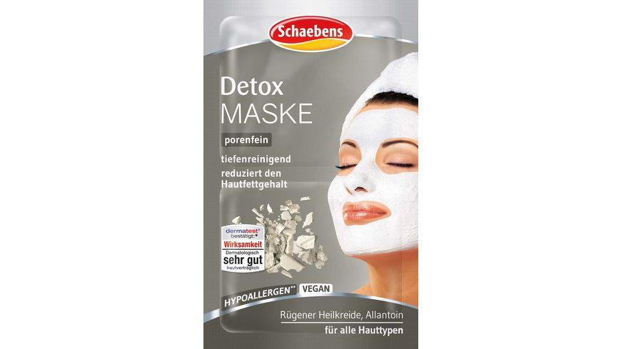 Schaebens Maske Reinigend