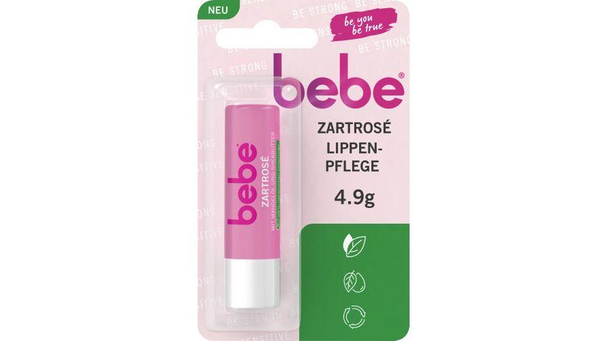 bebe® Sanftgeküsst Lippenpflege Zartrosé