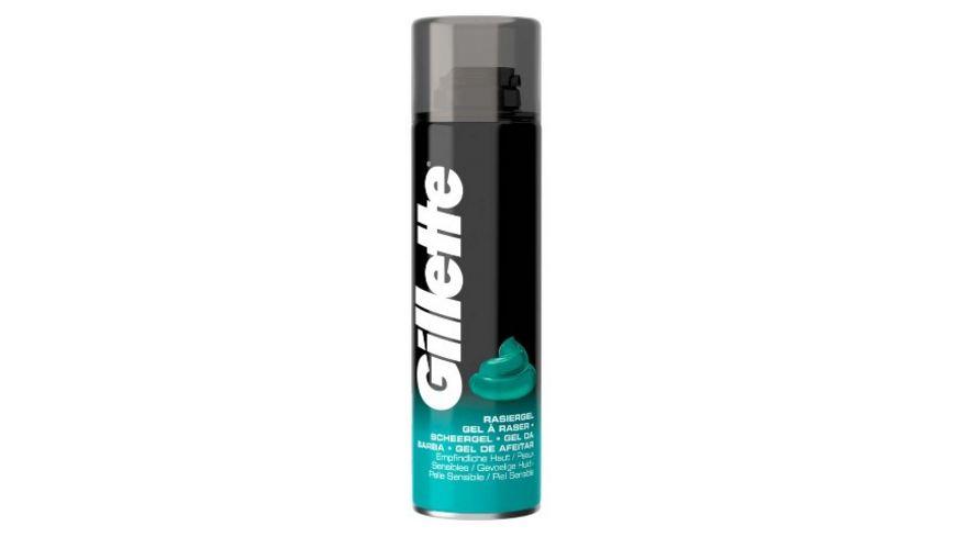 Gillette Rasiergel empfindliche Haut