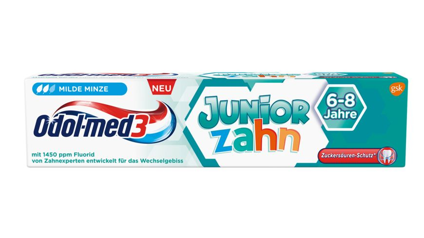 Odol med3 Zahncreme Juniorzahn