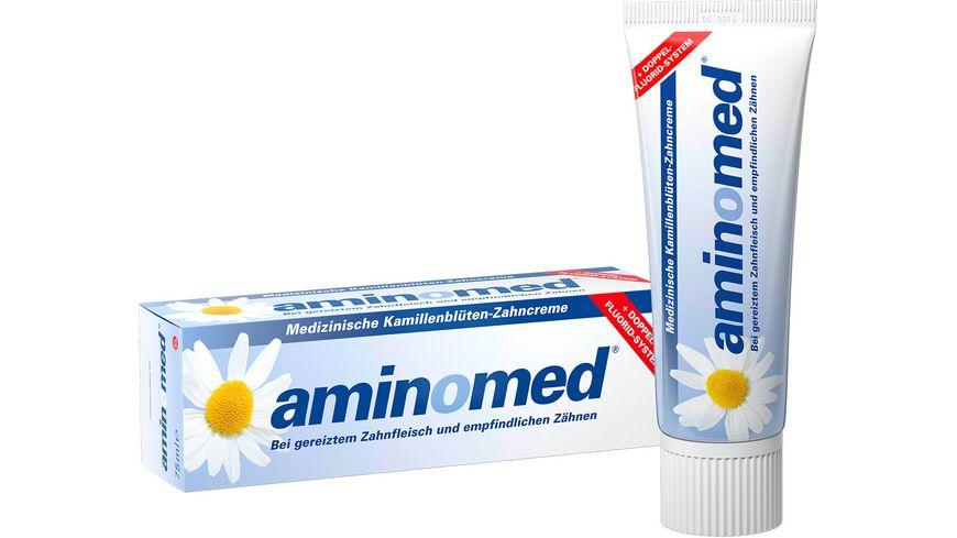 aminomed Zahncreme Fluorid Kamille