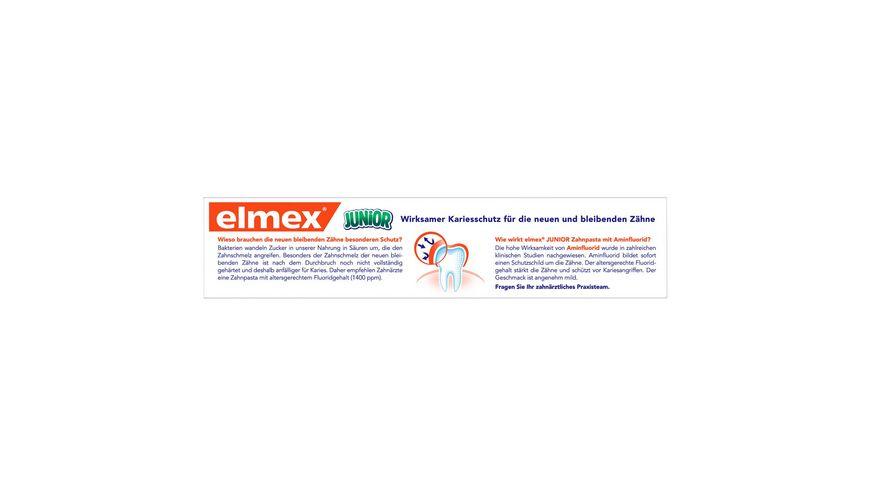 elmex Junior Zahncreme