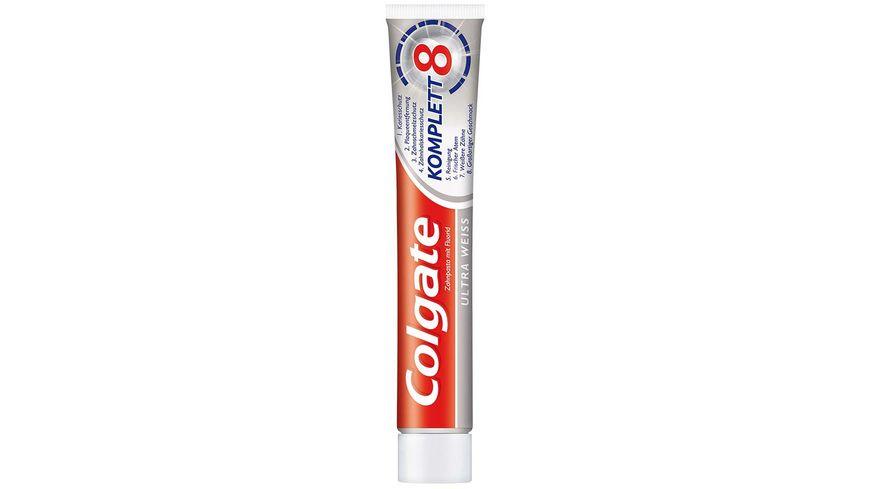 Colgate Zahncreme Komplett Ultra Weiss