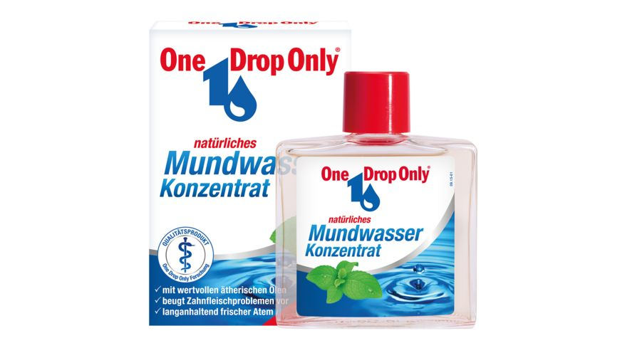 One Drop Only Mundwasser Konzentrat