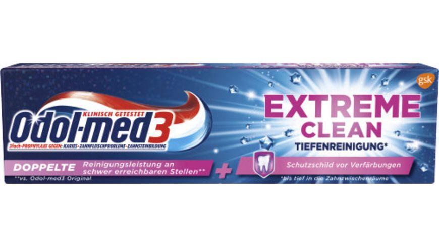 Odol med3 Zahncreme Extra Clean Tiefenreinigung