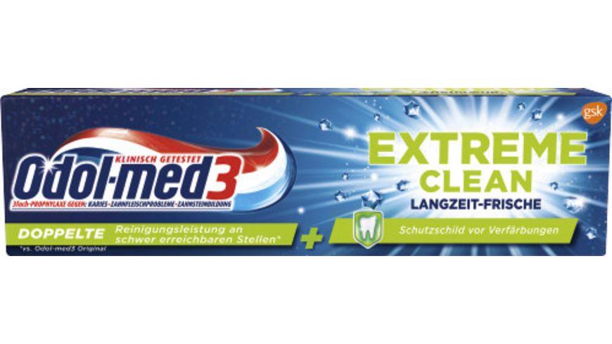 Odol med3 Zahncreme Extra Clean Langzeit Frische
