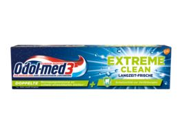 Odol med3 Zahncreme Extreme Clean Langzeit Frische