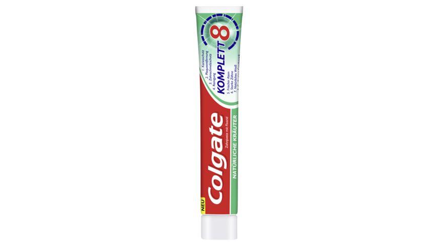 Colgate Zahncreme Komplett 8 Natuerliche Kraeuter