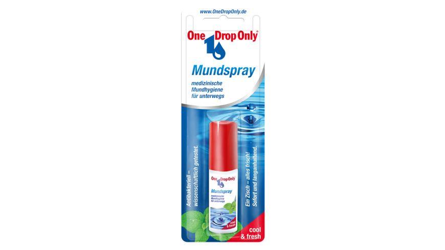 One Drop Only Mundspray