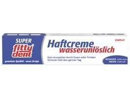 fittydent Haftcreme Super Wasserunloeslich