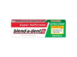 Blend A Dent Haftcreme Complete extra stark neutral 47g