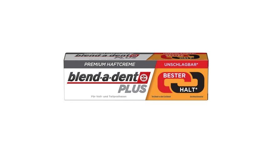 blend a dent Plus Haftcreme Super Duo Kraft