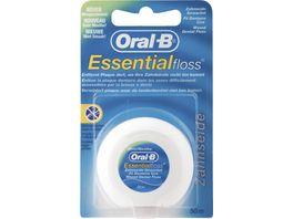 Oral B Manual ESSENTIAL FLOSS Zahnseide MINT GEWACHST 50M