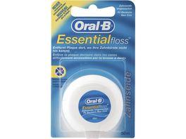 Oral B ESSENTIAL FLOSS Zahnseide UNGEWACHST 50M
