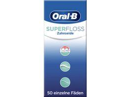Oral B Zahnseide Super Floss Faeden