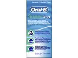 Oral B Zahnseide Super Floss Faeden
