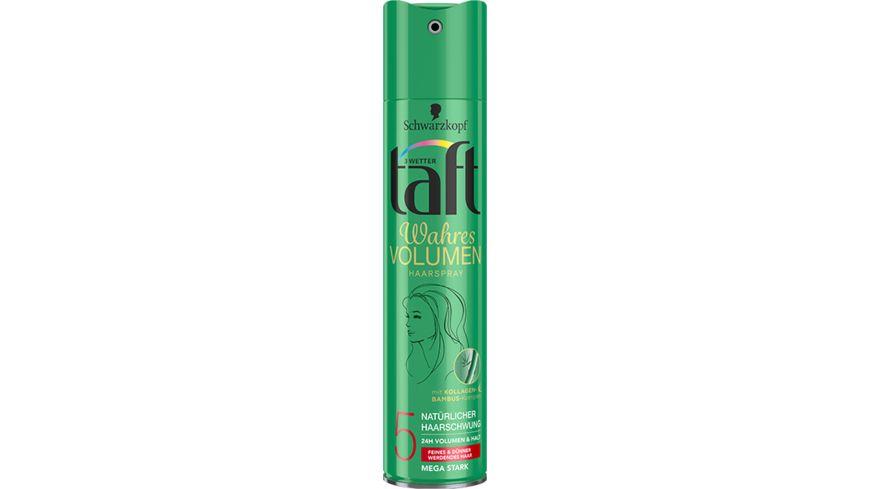 3 WETTER TAFT Haarspray Volumen mega starker Halt 5