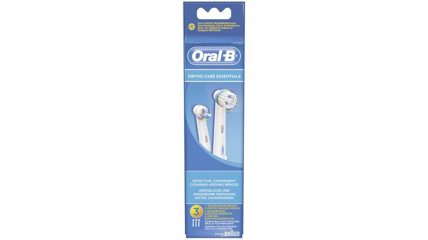 Oral B Aufsteckbuersten OrthoCare