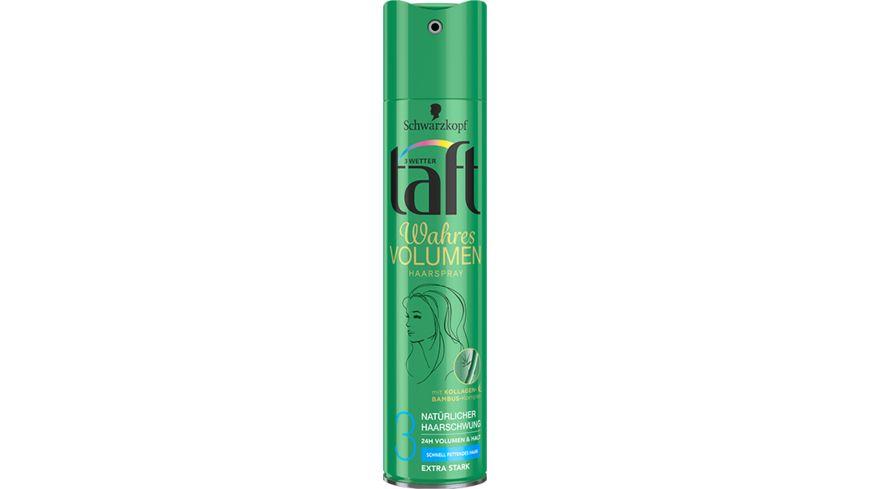 3 WETTER TAFT Haarspray Volumen Fresh schnell fettendes Haar extra starker Halt 3