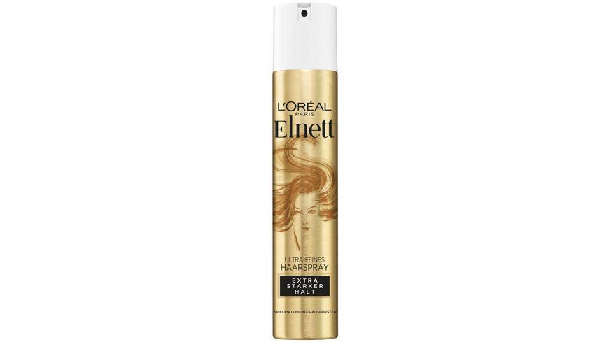 L OREAL PARIS Elnett Haarspray De Luxe extra starker Halt