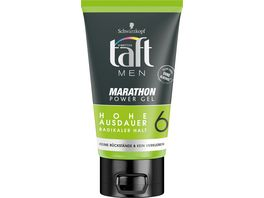 3 WETTER TAFT Gel MEN Marathon Power Gel radikal starker Halt 6