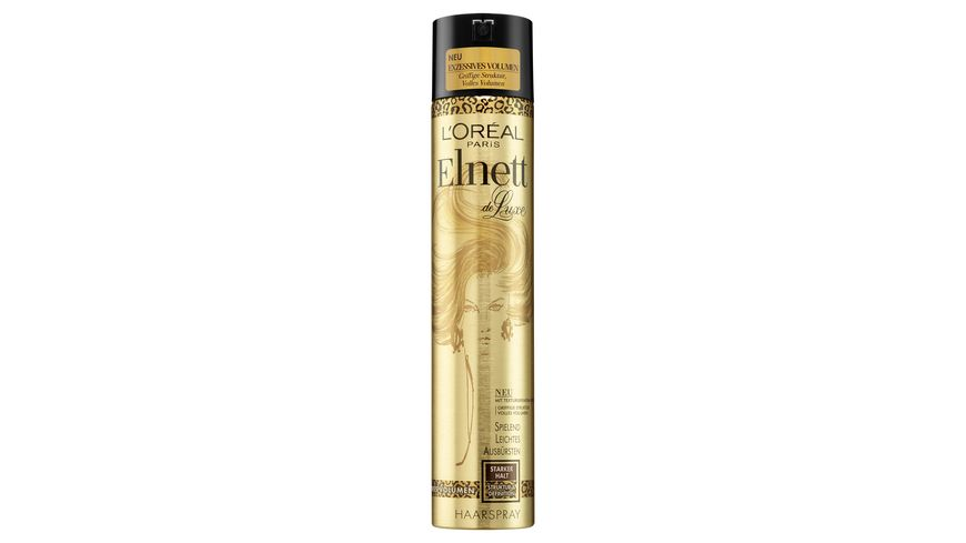 L OREAL PARIS Elnett Haarspray De Luxe Exzessives Volumen starker Halt