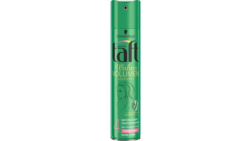 3 WETTER TAFT Haarspray Volumen feines Haar ultra starker Halt 4