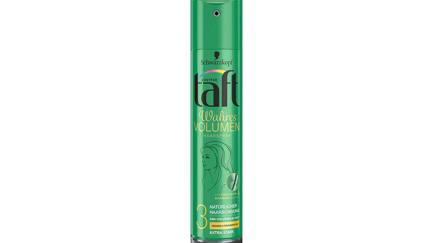 3 WETTER TAFT Haarspray Volumen trocken strapaziertes Haar extra starker Halt 3