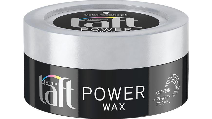 Schwarzkopf 3 WETTER taft Wax Power Mega Starker Halt