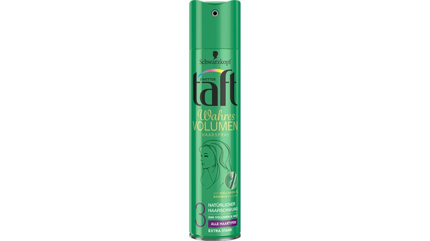 3 WETTER TAFT Haarspray Volumen extra starker Halt 3