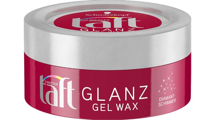 Schwarzkopf 3 WETTER taft Gel Wax Glanz