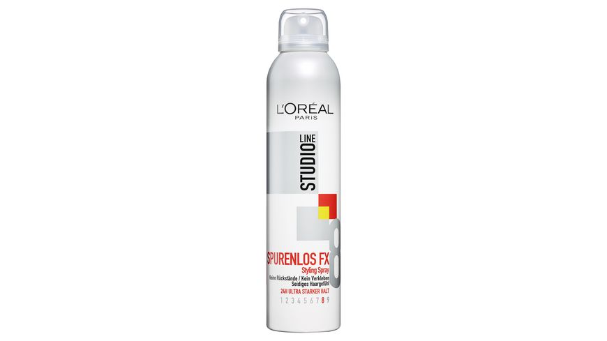 L OREAL PARIS STUDIO LINE SPURENLOS FX Styling Spray 24h ultra starker Halt