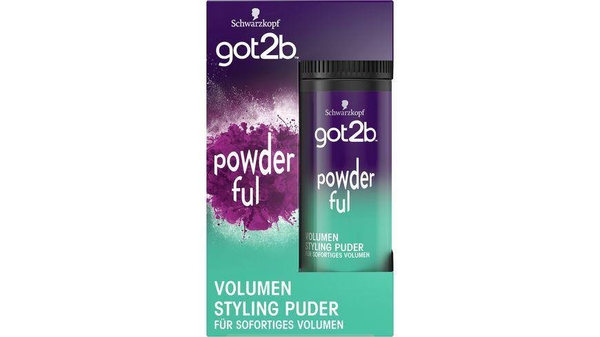 Schwarzkopf GOT2B Powder 10 G POWDER ful volumen Styling Halt 4